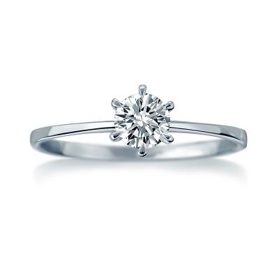 Alesai 艾尼希亞鑽石 18分 完美六爪鑽戒