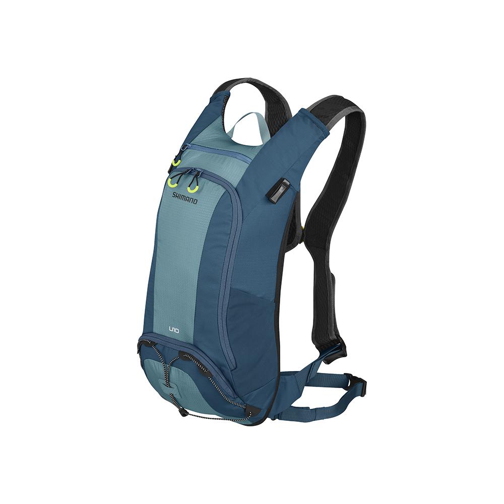SHIMANO UNZEN 登山車後背包-無水袋 10L 愛琴藍