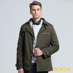 BOFOX WILDLIFE軍裝外套-軍綠