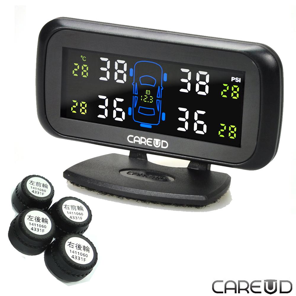 [快]CAREUD胎外型胎壓偵測器U903W(360度新版)