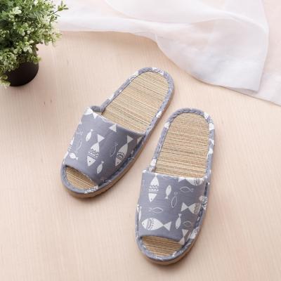 兒童款 輕盈室內蓆拖鞋
