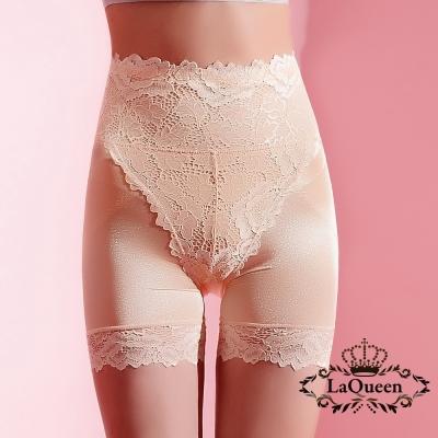 塑褲  輕薄高腰提臀束腹蠶絲塑褲-膚 La Queen