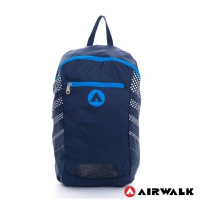 AIRWALK-小袋不小-可折疊收納輕量隨身後背包