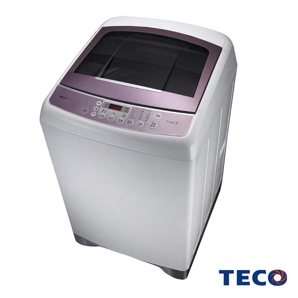 TECO東元15公斤靜音變頻超音波洗衣機W1591XW
