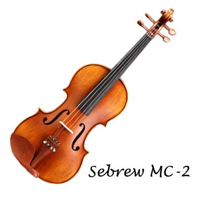 Sebrew希伯萊 MC-2,高級雲杉實木,小提琴,專業考級版,贈琴盒、琴弓、全配