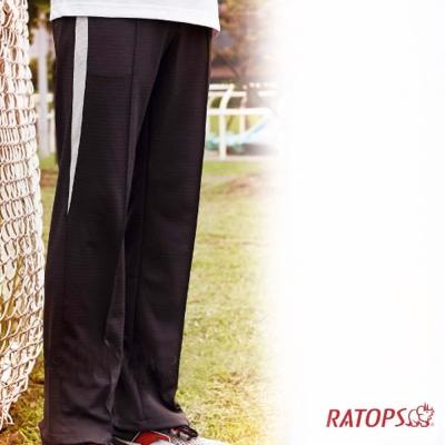【瑞多仕】中性款 COOLPLUS 排汗長褲_DB8774 鐵灰/灰白色 V1