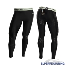 SUPERFEATURING 專業跑步 三鐵 運動壓縮緊身褲