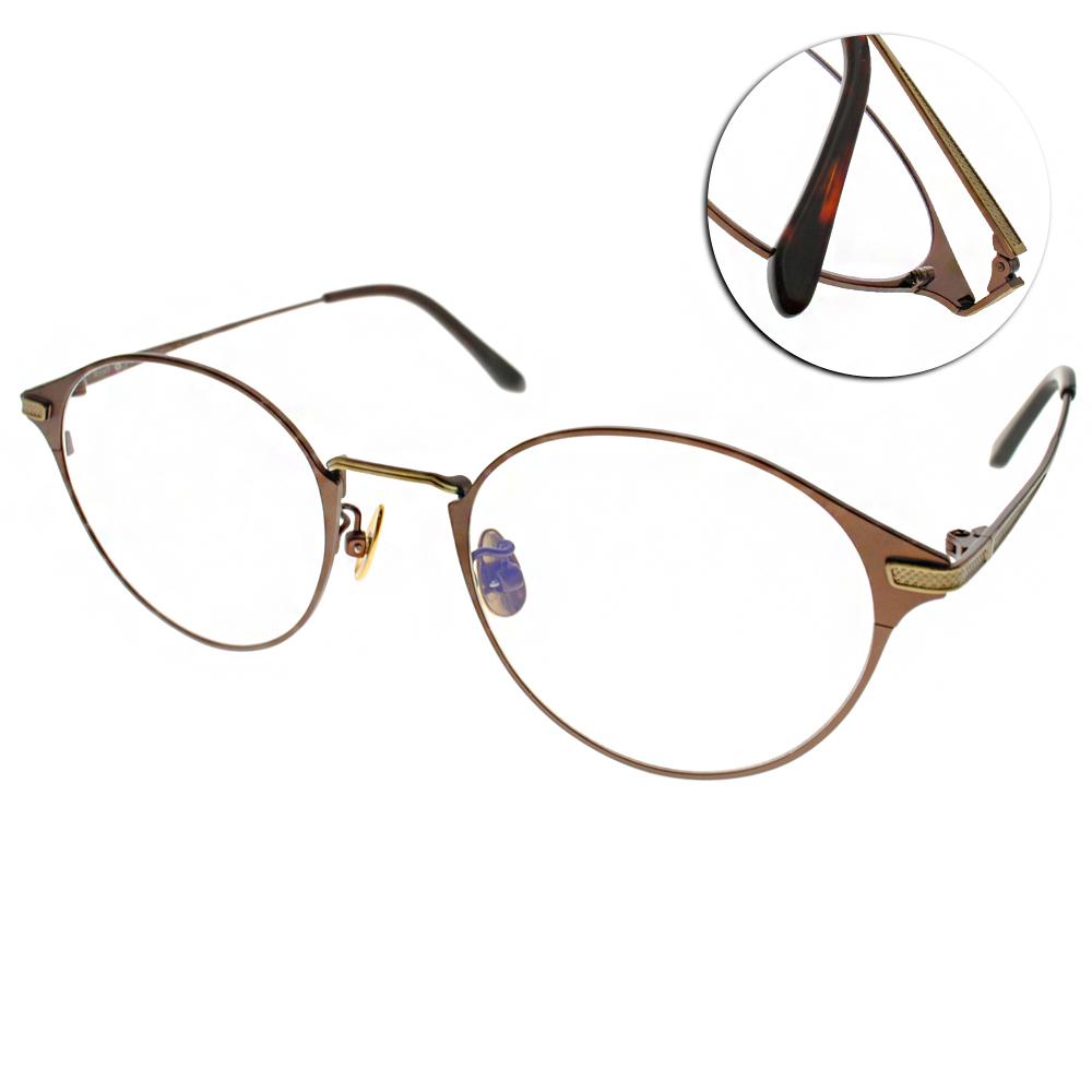 NINE ACCORD眼鏡 簡約休閒款/棕-金#PLACO ELSE1 C02