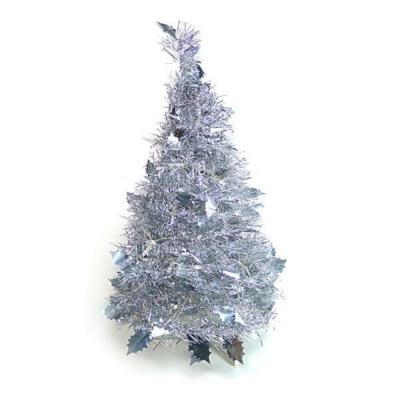 2尺(60cm)創意彈簧摺疊聖誕樹(銀色系)