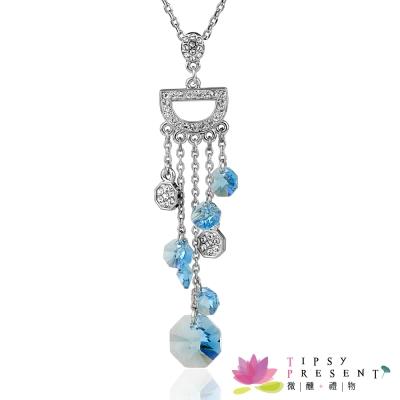 微醺禮物 施華洛世奇水晶元素 月之女神 Artemis 項鍊