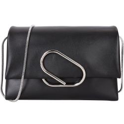 3.1 Phillip Lim Alix 金屬迴紋針造型設計斜背包(黑色)