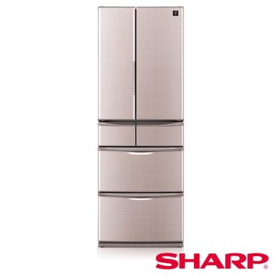 SHARP 夏普 465公升 變頻六門冰箱 SJ-XF47BT-T晶燦棕/日本製
