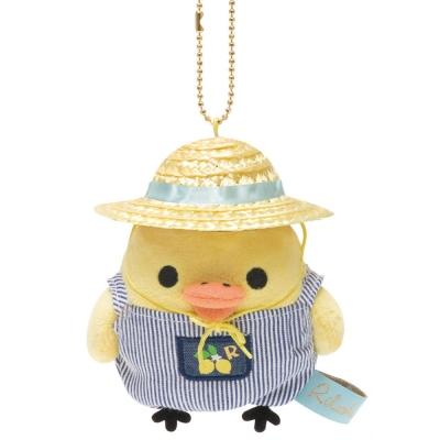 拉拉熊水果檸檬園系列毛絨公仔吊飾。小雞