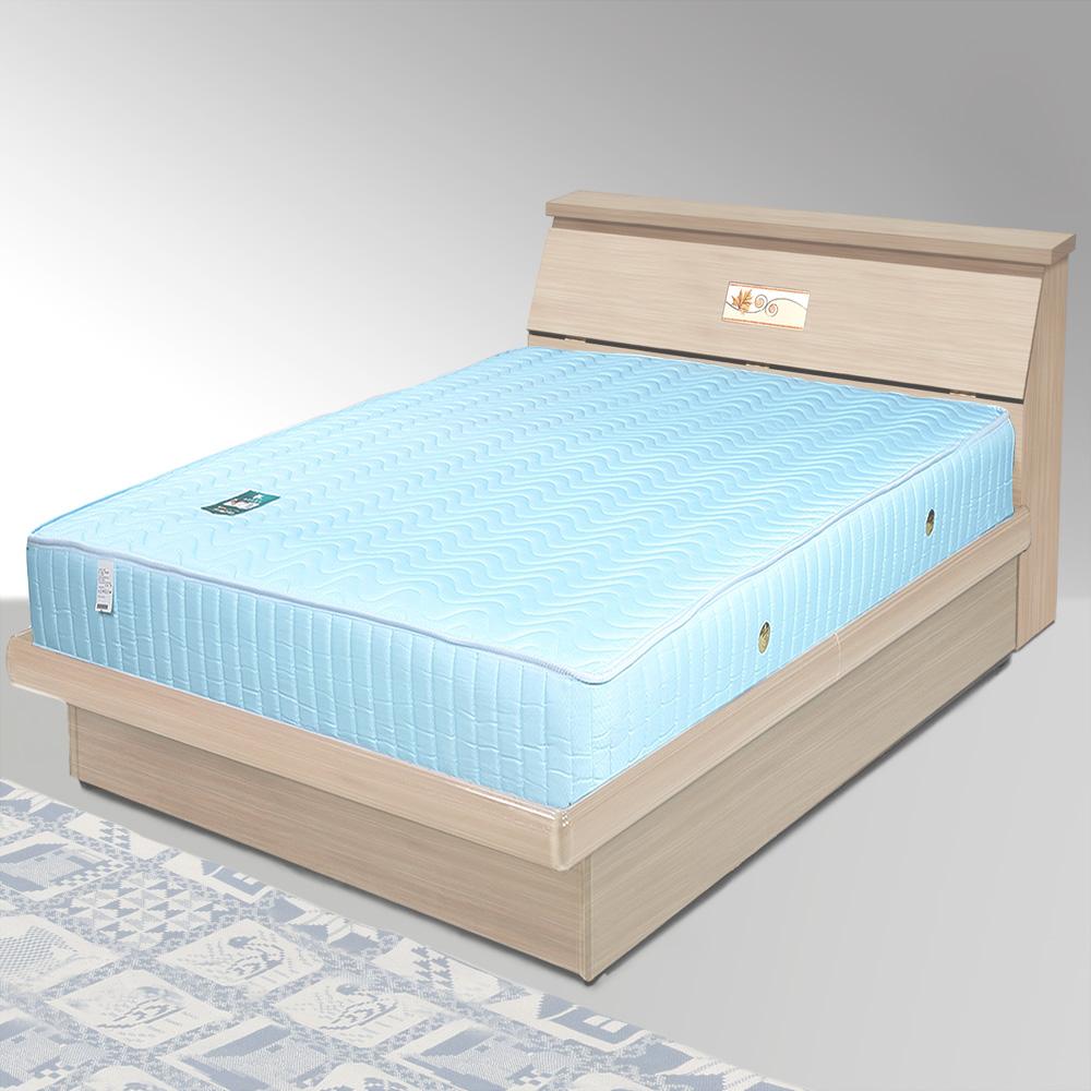 Homelike 席歐3.5尺掀床組+獨立筒床墊-單人(二色任選)