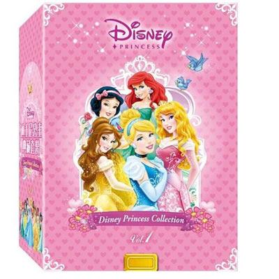 迪士尼公主典藏套裝1-DVD