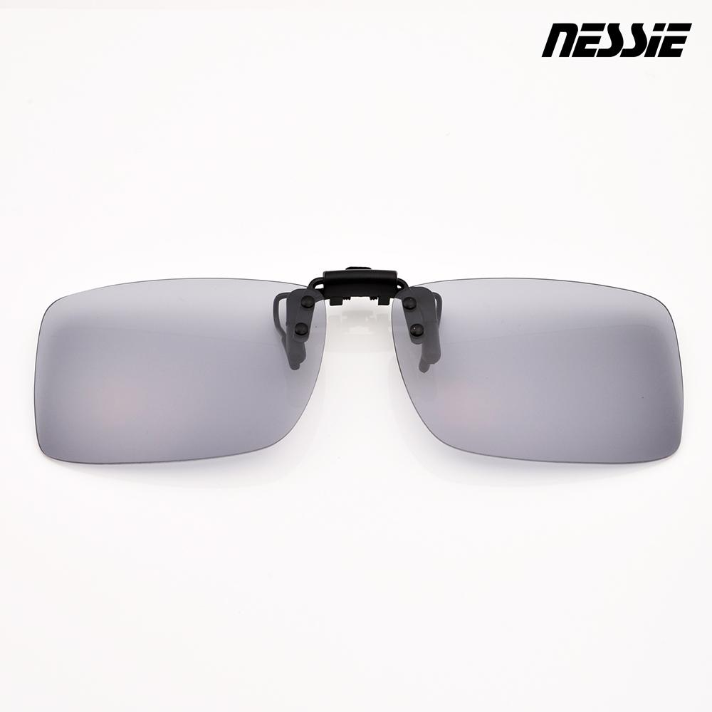 Nessie尼斯眼鏡-變色偏光夾片-變色灰