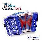 【荷蘭New Classic Toys】幼兒手風琴玩具 - 俏皮藍 - 10056