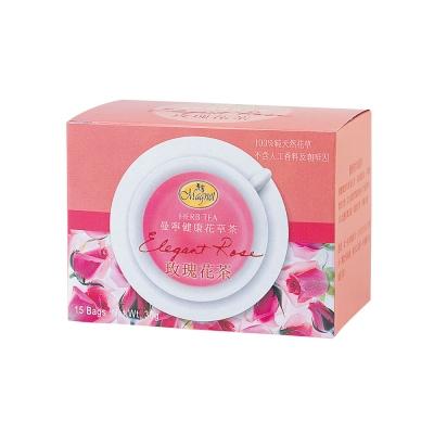 曼寧 玫瑰花茶Rose隨手盒(2gx15入)