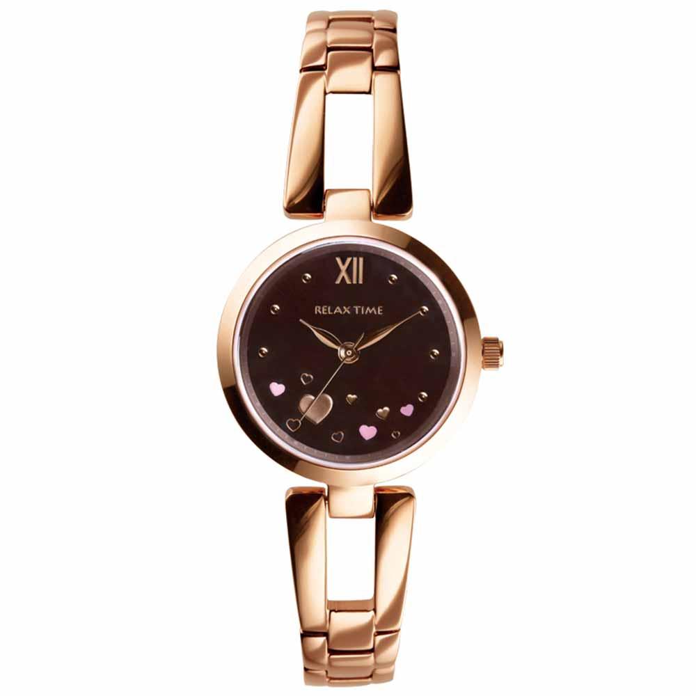 RELAX TIME 小資?微甜錶款(RT-71-6)咖啡愛心x玫瑰金/28mm @ Y!購物