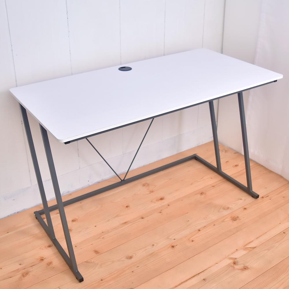 凱堡 Z型電腦桌工作桌120公分(附電線孔蓋)-2色(120x60x73cm)