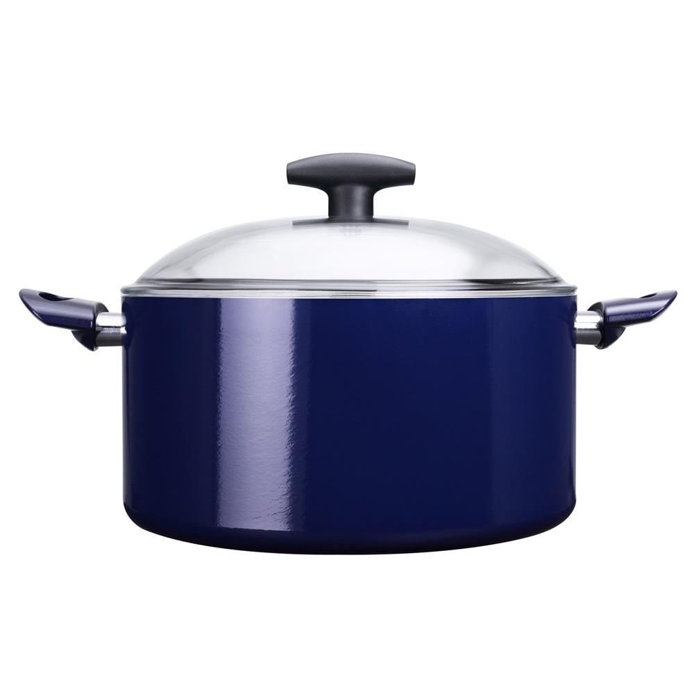 義廚寶湯廚系列-厚釜版28CM湯鍋-寶藍