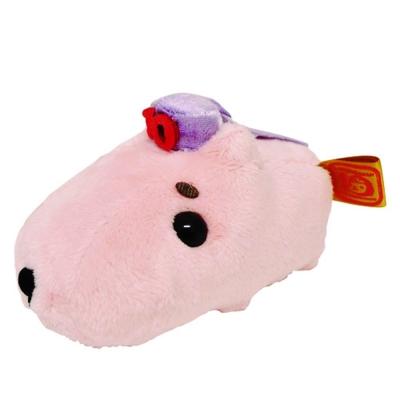 Kapibarasan 水豚君10周年毛絨小公仔水豚君。13cm