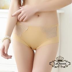 內褲  藤花刺繡蕾絲小褲-膚 La Queen