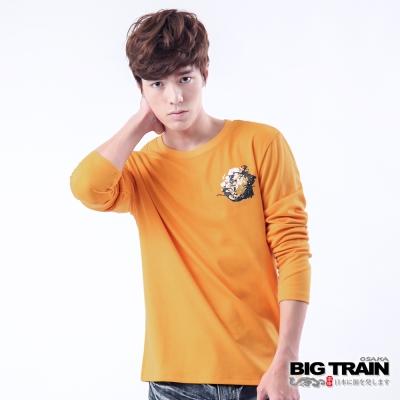 BIG TRAIN-墨徽映水達人TEE-土黃