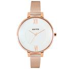 GOTO  瑞典淑女時尚米蘭腕錶-GM2040L-44-241-1/36mm