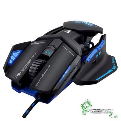 Dragonwar 幻影專業電競滑鼠(ELEG4.1BL)藍