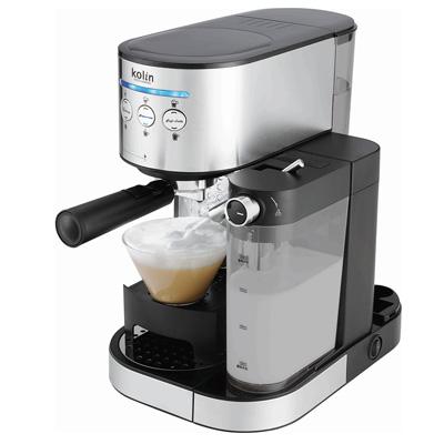 歌林義式濃縮奶泡咖啡機-KCO-LN405C