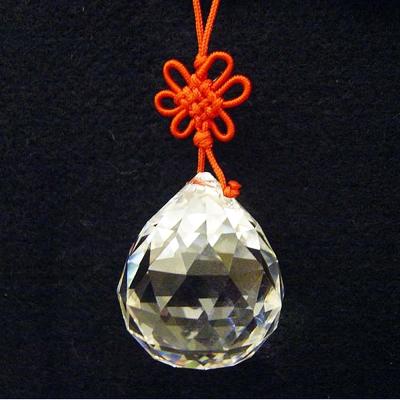 開運陶源 水晶球(風水球)吊飾