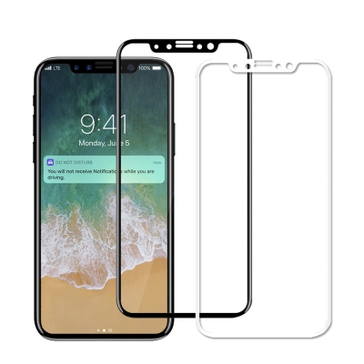iPhone X 5.8吋 9H鋼化玻璃貼 全屏滿版 2.5D保護貼
