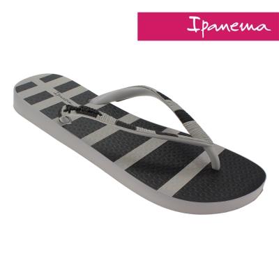 IPANEMA 時尚極簡人字拖鞋-灰色/黑色