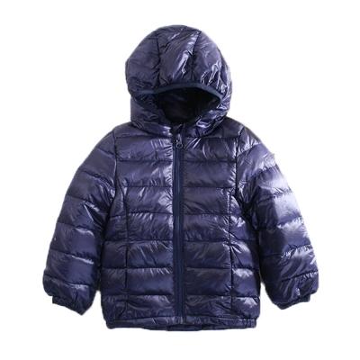 輕量極保暖90%羽絨外套 深藍 k60456魔法Baby