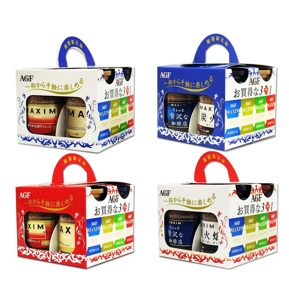 AGF 四季如意雅撰咖啡禮盒(4款包裝隨機出貨)