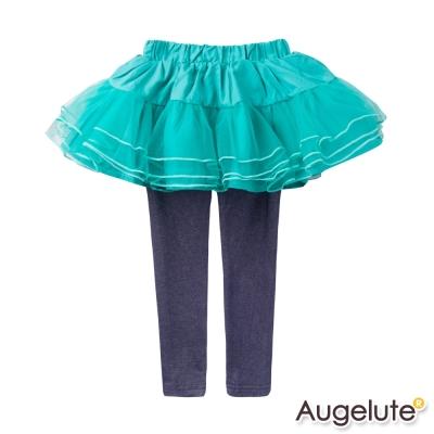 baby童衣-兒童裙褲-假兩件層次網紗長褲4705