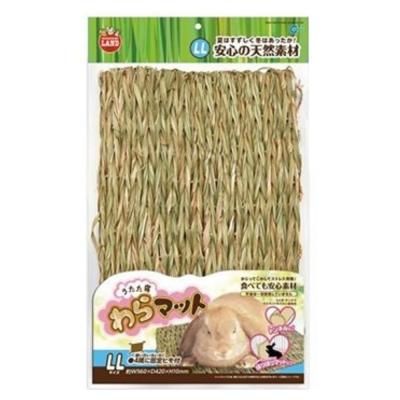 日本Marukan 兔腳保護 可食可踏 兩用牧草踏墊 LL號 【ML-110】