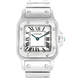 CARTIER卡地亞SANTOS 山度世W20056D6小型腕錶-34.8X26.2MM