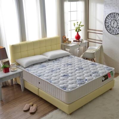Ally愛麗-皇冠天絲棉-抗菌蜂巢獨立筒床-雙人加大6尺