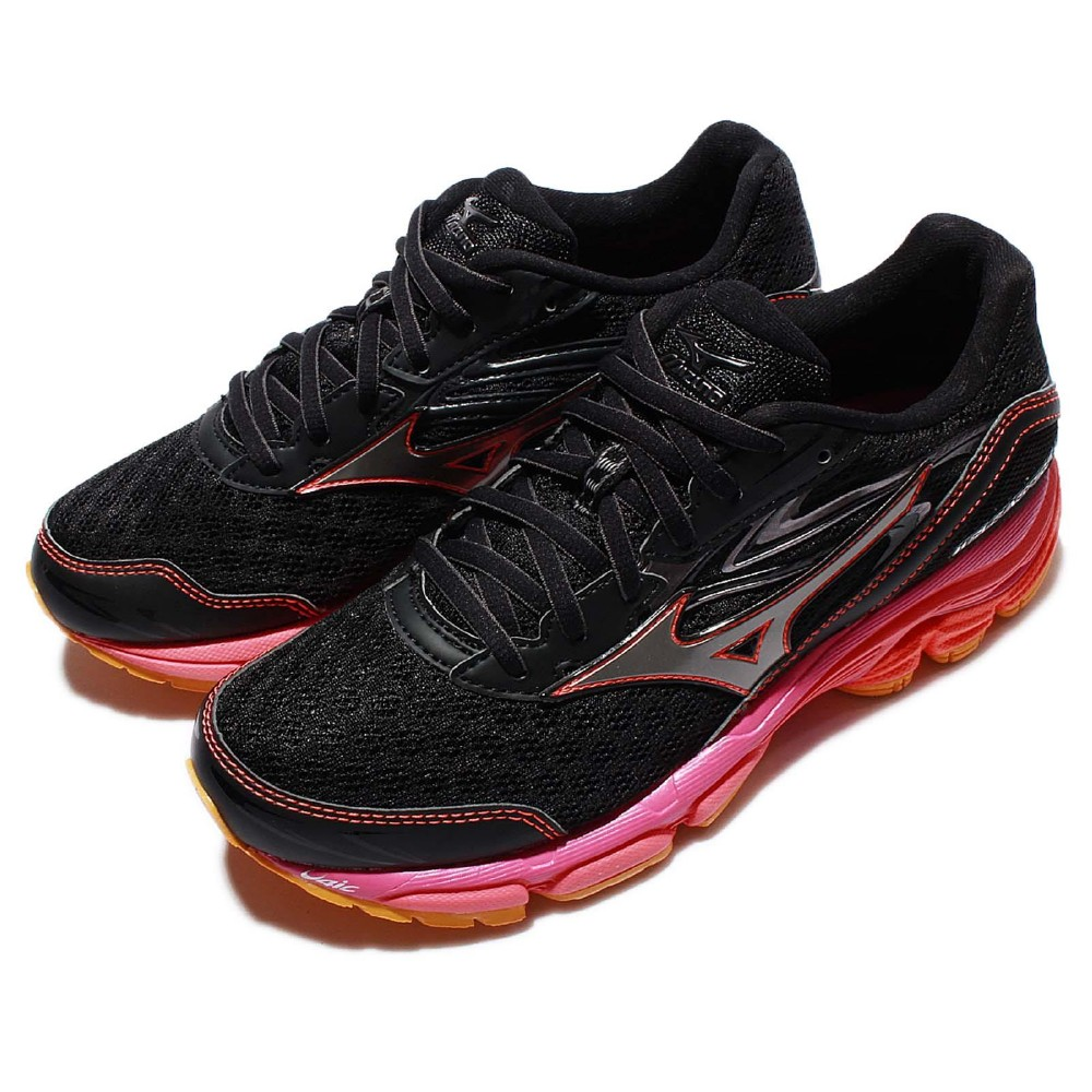 Mizuno 慢跑鞋 Wave Inspire 路跑 女鞋