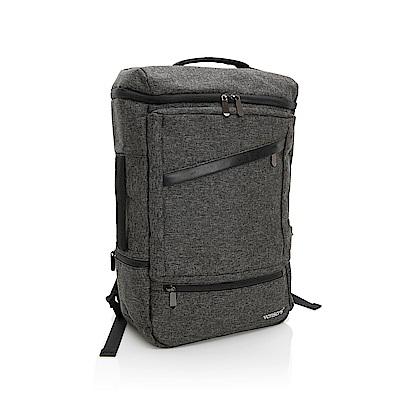 vensers 多功能時尚後背包(S700301黑灰)