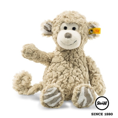 STEIFF德國金耳釦泰迪熊 猴子 Bingo Monkey (動物王國)