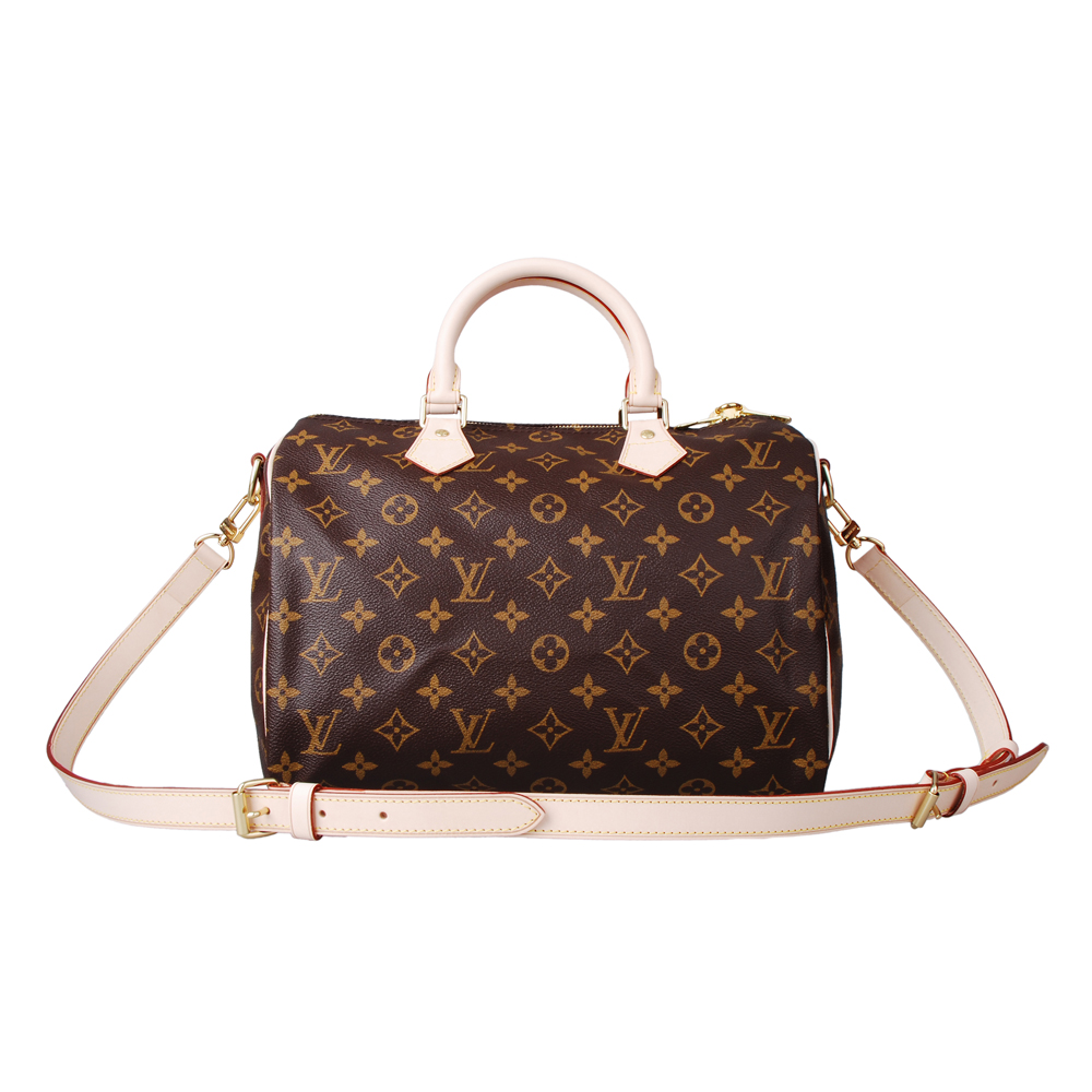 LV M40391 經典Monogram Speedy 30造型手提斜背包