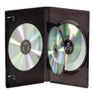 DigiStone 四片裝DVD光碟片精裝優質軟盒黑色 20PCS
