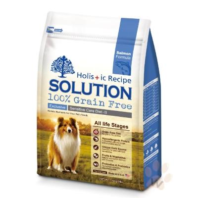 耐吉斯SOLUTION 無穀大西洋鮭魚犬糧6磅 1入