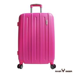 RAIN DEER 貝拉爾24吋ABS硬殼行李箱-腮紅粉