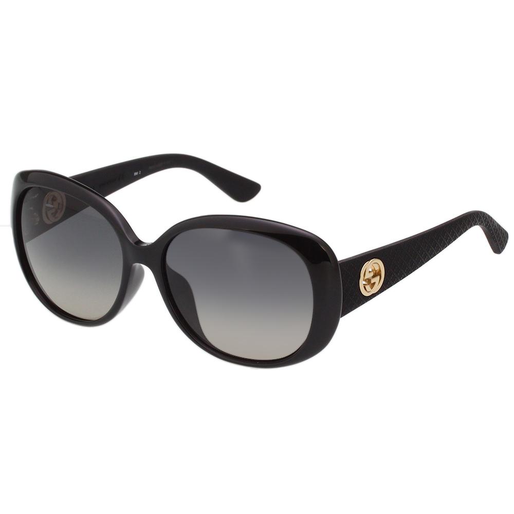 GUCCI 時尚太陽眼鏡 (黑色) GG3794FS