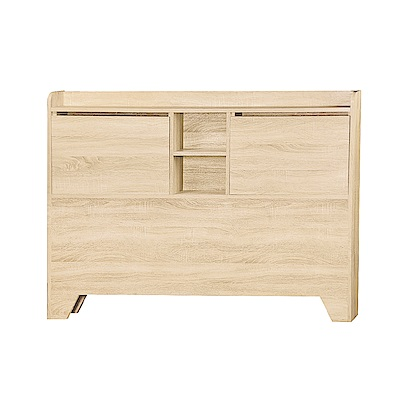 AS-路6尺原切橡木H型床頭片-184.5x11.7x102cm