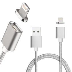 Moizen Apple Lightning 接頭 磁吸充電線 傳輸線 金屬接頭 編織線
